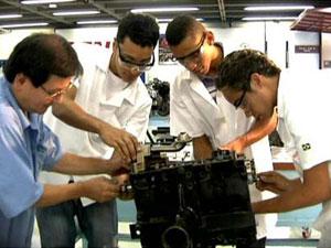 Educação profissionalizante reúne 1,14 milhão de jovens (Foto: TV Globo/Reprodução)