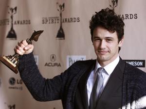 James Franco, eleito o melhor ator no Spirit Awards. (Foto: Reuters)
