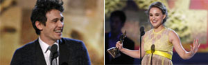 Spirit: 'Cisne negro' leva prêmio de melhor filme, diretor e atriz; James Franco é melhor ator (Reuters)
