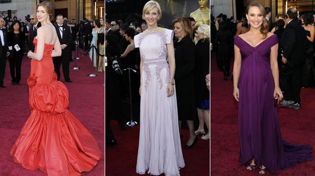 Veja o estilo das estrelas no tapete vermelho do Oscar (AP)