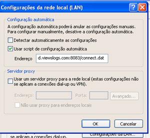 Configuração de proxy usando arquivo PAC no Internet Explorer (Foto: Reprodução)