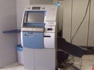 Caixa eletrônico (Foto: Reprodução/TV Bahia)