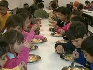 Merenda escolar (Foto: TV Globo/Reprodução)