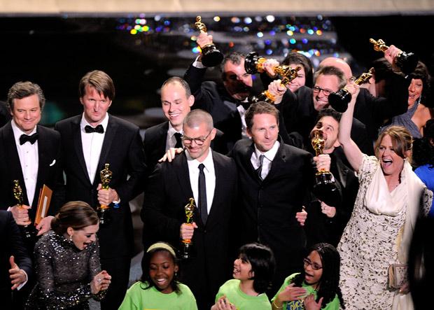 Vencedores do Oscar comemoram com festa no fim da cerimônia (Foto: Mark J. Terrill/AP)