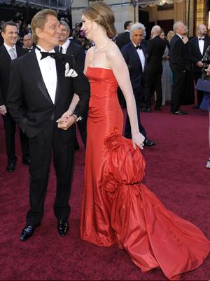 Valetino e Anne Hathaway (Foto: AP)