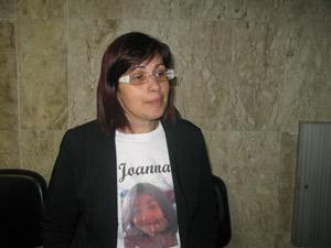Caso Joanna - Mãe da menina (Foto: Aluizio Freire)
