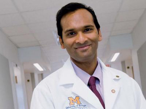 Arul Channaiyan, autor da pesquisa (Foto: University of Michigan Health System)