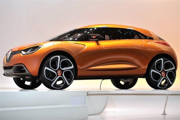Renault Captur no Salão de Genebra (Foto: FABRICE COFFRINI/AFP)