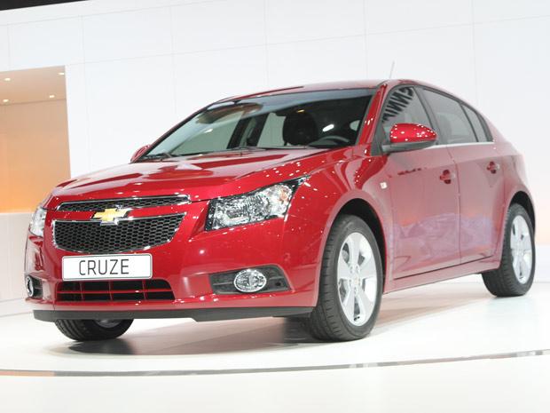 Versão final do Chevrolet Cruze (Foto: Luis Fernando Ramos/G1)