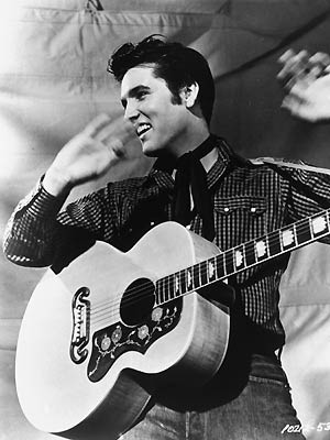 O cator Elvis Presley (Foto: AP)