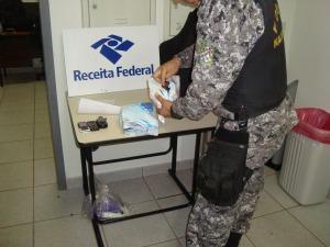 Polícia Federal,  Força Nacional e Receita Federal apreendem drogas em Medianeira, Oeste do Paraná. (Foto: Afonso Martins)