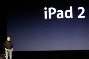 Steve Jobs, durante apresentação do novo iPad (Foto:  Reprodução)
