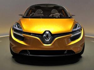 Renault R-Space durante apresentação em Genebra (Foto: FABRICE COFFRINI/AFP)