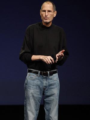 Steve Jobs na apresentação do iPad 2 (Foto: Beck Diefenbach/Reuters)