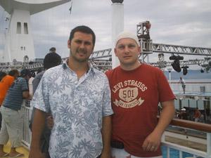 Maurício e Gianfabio estão juntos há 15 anos (Foto: Álbum de família)