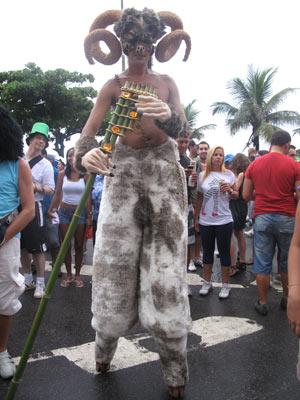 Banda de Ipanema (Foto: Alba Valéria Mendonça/G1)
