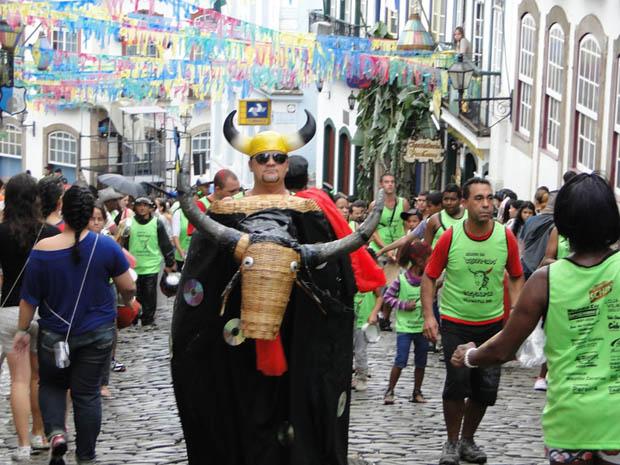 Bloco dos Chifrudos (Foto: Pedro Triginelli/G1 MG)