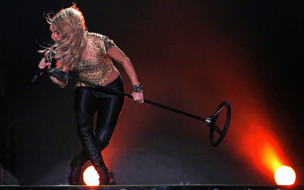Shakira (Foto: AP)