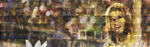 Mosaico mostra 1ª noite no Rio (Editoria de Arte/G1)