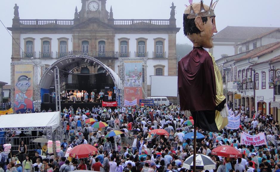 Carnaval Ouro Preto (Foto: Pedro Triginelli/G1 MG)