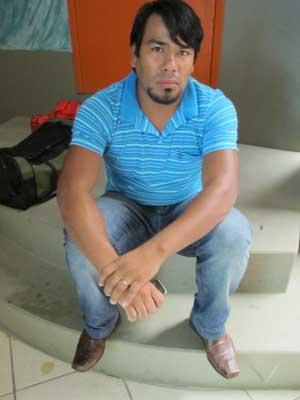 Índio Daniel  (Foto: Fernanda Nogueira/G1)