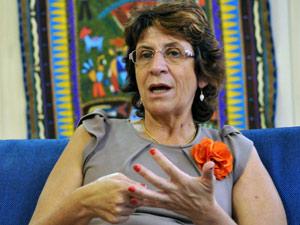 Ministra Iriny Lopes, da Secretaria de Políticas para Mulheres (Foto: Elza Fiúza / Agência Brasil)