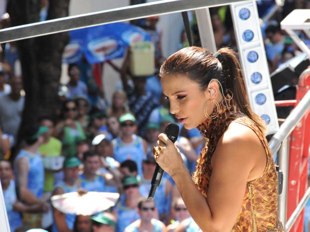 Ivete Sangalo (Foto: Eduardo Freire/G1)