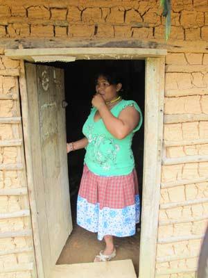 Escola indígena - Neusa (Foto: Fernanda Nogueira/G1)