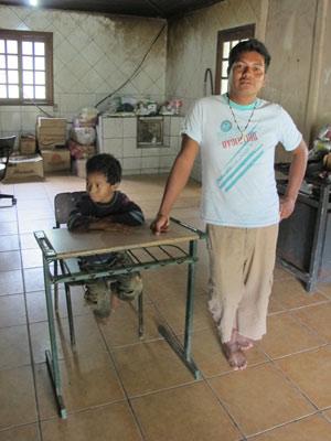 Escola indígena - José Benites (Foto: Fernanda Nogueira/G1)