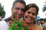 Em meio à folia, bloco tem casamento de verdade (Débora Santos/G1)