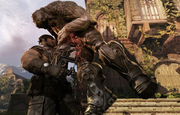 'Gears of War 3' é um dos jogos mais aguardados do Xbox 360 em 2011 (Foto: Divulgação/Microsoft)