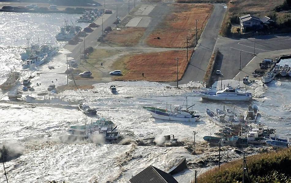 Os principais tsunamis no mundo nos últimos anos (Yomiuri/Reuters)