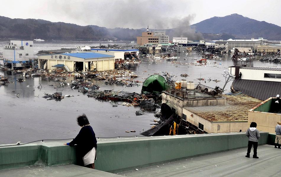 Saiba quais países estão em alerta de tsunami após terremoto no Japão (The Yomiuri Shimbun/AP Photo)
