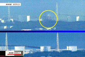Explosão Fukushima Usina Terremoto Japão - Antes e Depois (Foto: AFP)