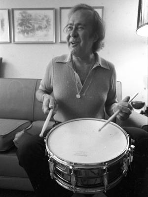O baterista de jazz Joe Morello (Foto: AP)