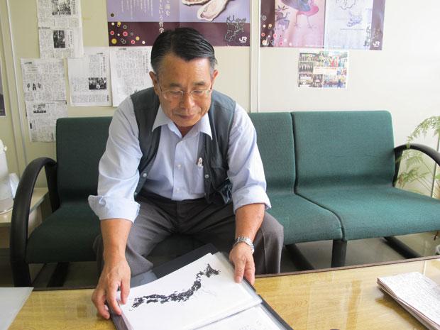 Presidente da Associação Miyagui Kenjinkai ainda não fez contato com seus familiares (Foto: Letícia Macedo/ G1)