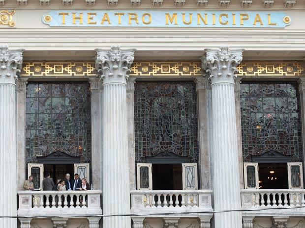 Theatro Municipal é um dos principais pontos culturais do Rio, palco de apresentações de balé e ópera (Foto: Fábio Motta/ Ag. Estado)