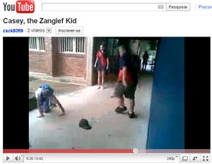Zangief menino golpe youtube (Foto: Reprodução/YouTube)