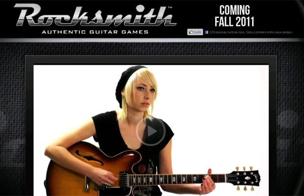 Ubisoft anuncia 1º jogo que permite tocar música com guitarra de verdade (Foto: Reprodução)
