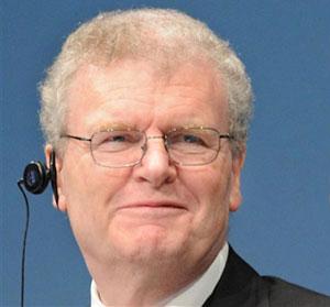 Howard Stringer, presidente e director-executivo da Sony  (Foto: AFP)