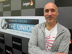 Neville Page esteve no evento paulistano The Union (Foto: Gustavo Miller/G1)