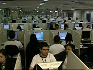 Telemarketing (Foto: Reprodu&#231;&#227;o/TV Globo)