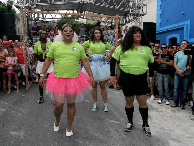 Jogadoras 'entraram em campo' em 2010 (Foto: Divulgação/Blue Space)