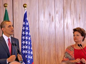 Obama-Dilma (Foto: Raquel Aviani)