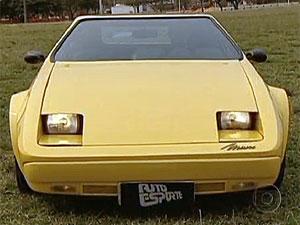 Miura é o carro fora de série  mais ousado produzido no Brasil (Reprodução/TV Globo)