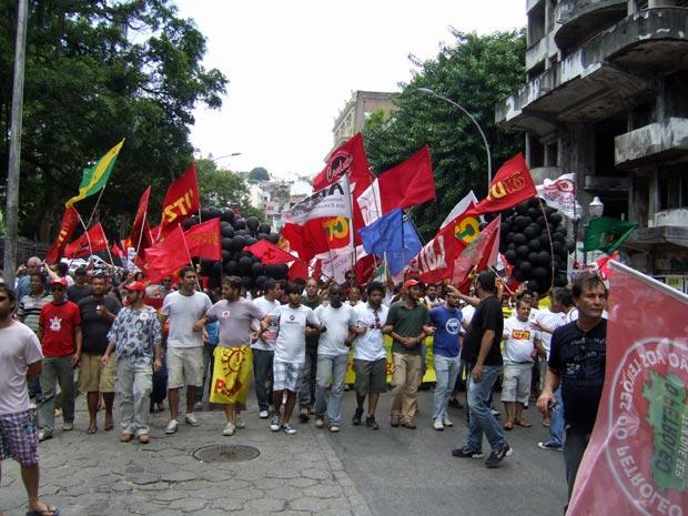 protesto obama (Foto: Júlia Dias Carneiro/BBC Brasil)