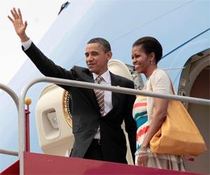 Fotos: Obama se despede do Rio (Pablo Martinez Monsivais/AP)