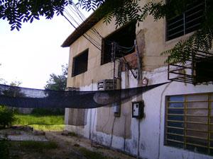 Prédio do campus de Picos foi interditado por obra mal feita no andar superior (Foto: Aleksandro Libério/Arquivo pessoal)