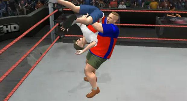 Casey heynes vira personagem de jogo de luta livre (Foto: Reprodução)