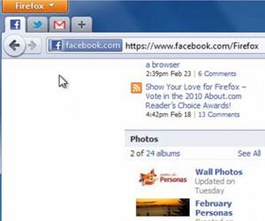 App Tab é uma das novidades do Firefox 4 (Foto: Reprodução)